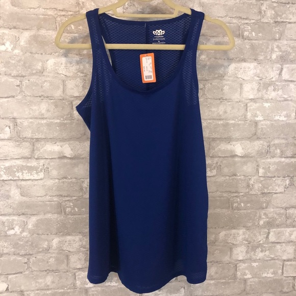 NWT Maurices Blue In Motion Tank Top
